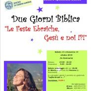 DUE GIORNI BIBLICA